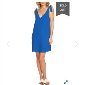 1. State Blue Shift Dress Small NWT